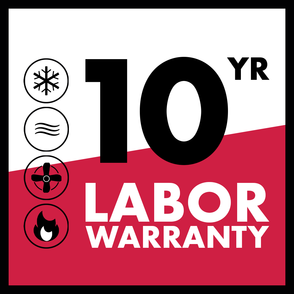 10 Year Labor Warranty_Aleco Heating & Air Conditioning